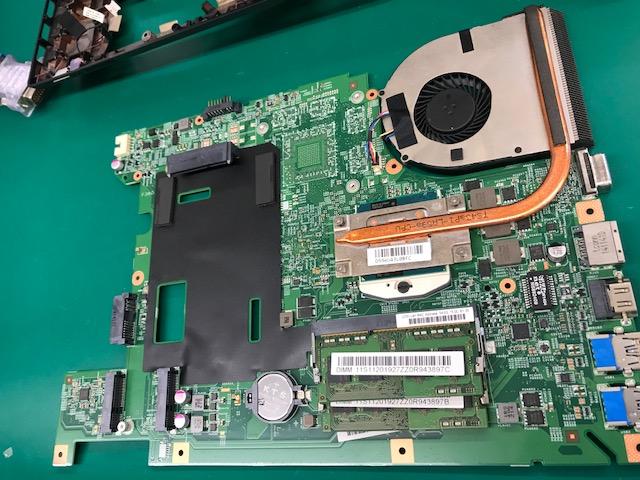 修理日誌】Lenovo ノートパソコン CPUファン交換修理実施しま